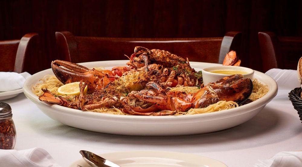 Broiled Lobster Oreganata