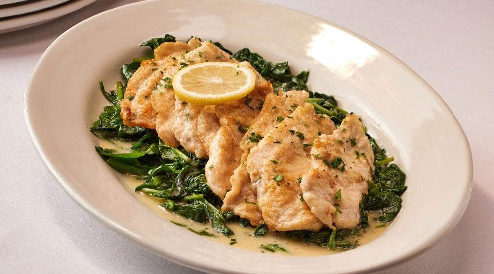 Chicken Scaloppine W/ Lemon & Butter