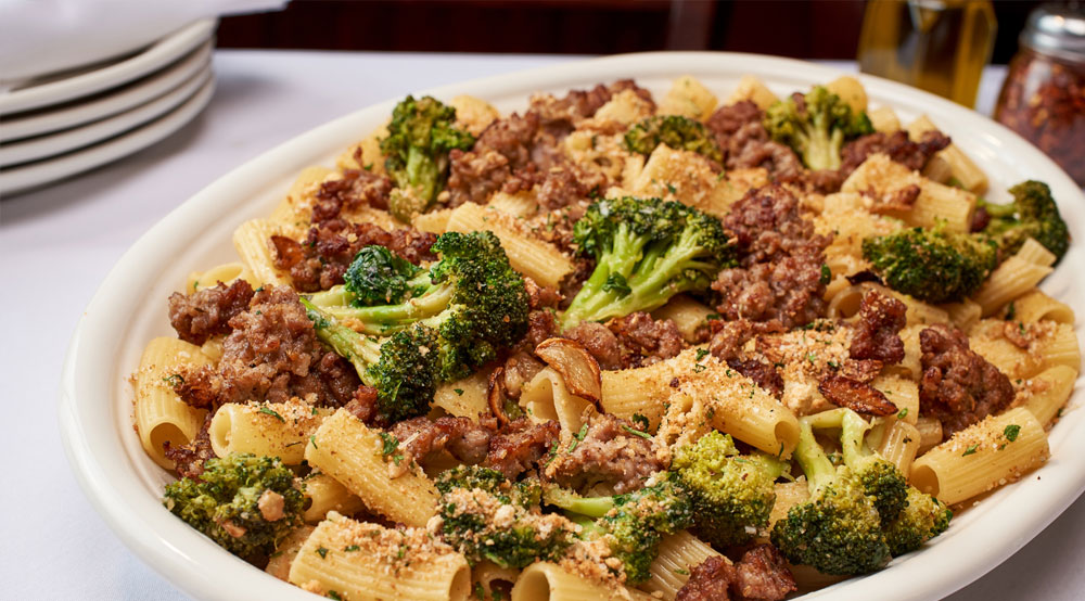 Rigatoni Broccoli Sausage
