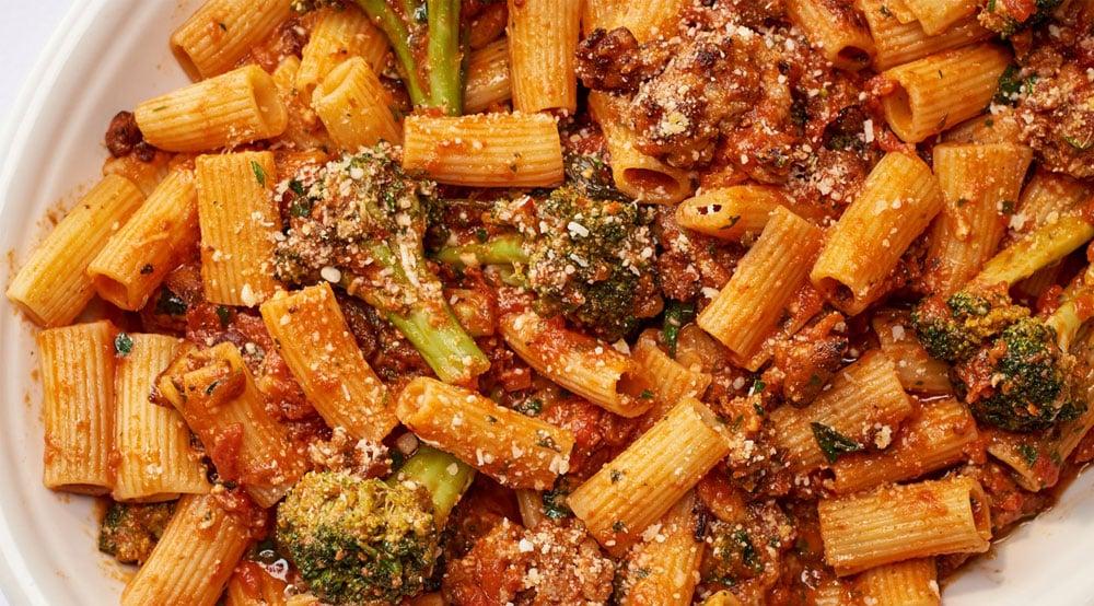 Rigatoni W/ Sausage & Broccoli