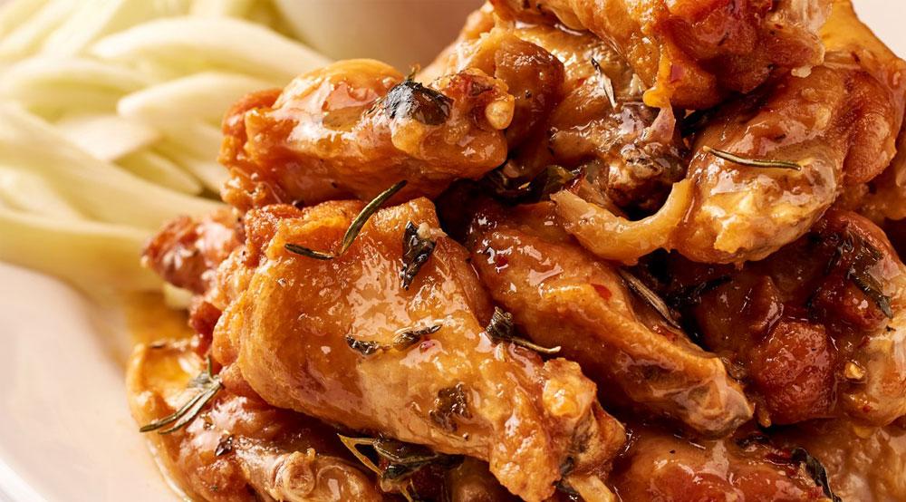 Spicy Scarpariello Wings