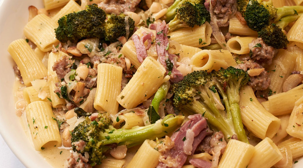 Rigatoni Country Style