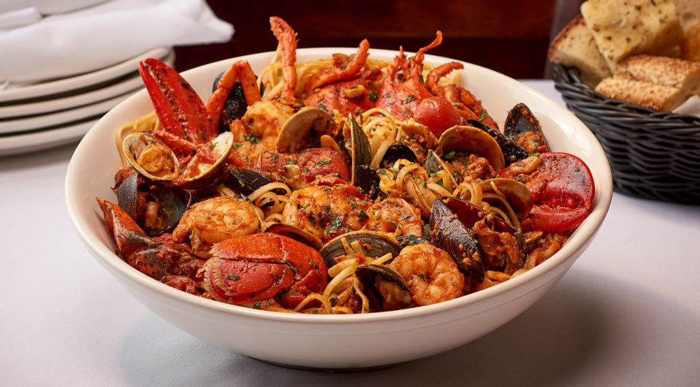 Mixed Seafood – Red Or White
