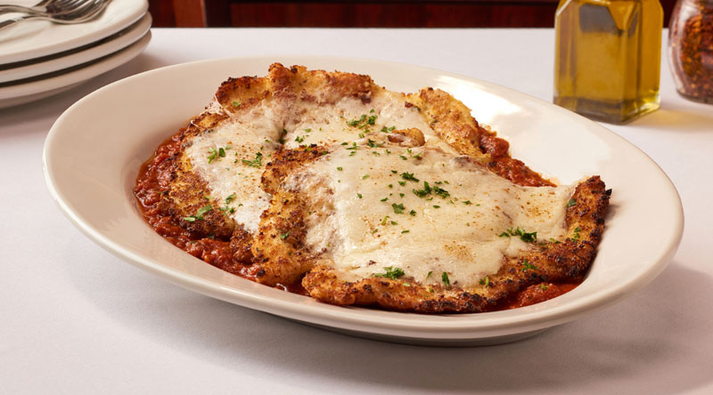 Photo of our Carmine's Chicken Parmagania