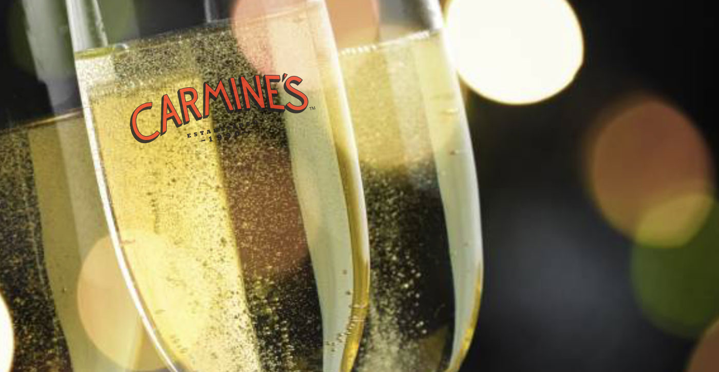 Celebrate New Year's Eve 2020 at Carmine's Las Vegas, The Forum Shops at Caesars
